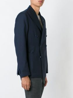 Двубортный Блейзер Tagliatore                                                                                                              синий цвет