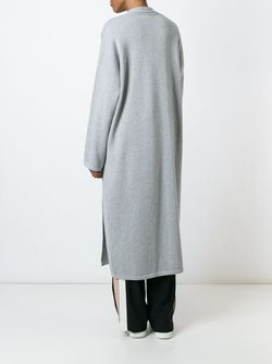 Oversized Shawl Cardigan CHARLIE MAY                                                                                                              серый цвет