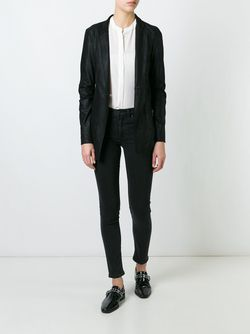 Snap Fastening Fitted Jacket Giorgio Brato                                                                                                              чёрный цвет
