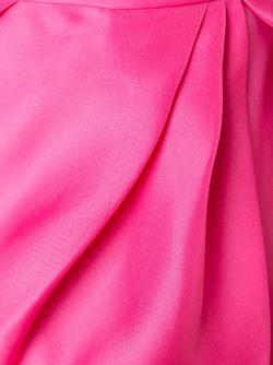 Длинная Юбка Со Сборками Monique Lhuillier                                                                                                              розовый цвет