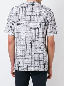Abstract Check T-Shirt Joseph                                                                                                              белый цвет