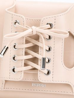 Tie Up Handle Clutch PERRIN PARIS                                                                                                              Nude & Neutrals цвет