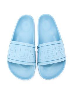 Шлепанцы С Логотипом Hunter                                                                                                              синий цвет