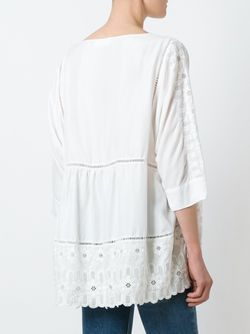 Блузка С Вышивкой P.A.R.O.S.H.                                                                                                              белый цвет