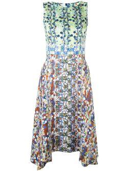 Платье С Геометрическим Принтом Peter Pilotto                                                                                                              многоцветный цвет