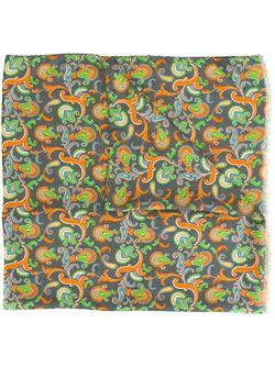 Шарф С Принтом Пейсли Kiton                                                                                                              многоцветный цвет