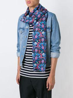 Floral Paisley Scarf Kiton                                                                                                              синий цвет
