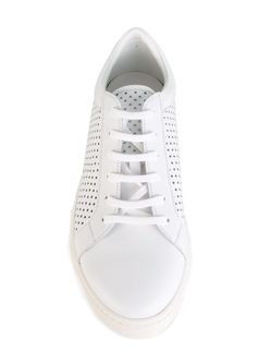 Perforated Sneakers Kiton                                                                                                              белый цвет