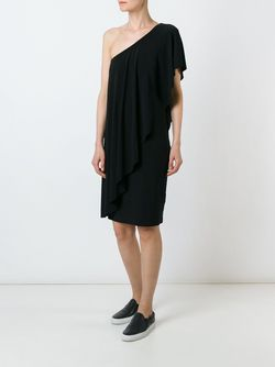 Платье На Одно Плечо Norma Kamali                                                                                                              черный цвет