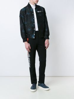 Printed Bomber Jacket Opening Ceremony                                                                                                              чёрный цвет