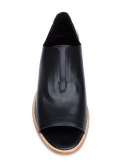 Flo Open Toe Slippers Zero + Maria Cornejo                                                                                                              черный цвет