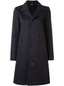 Trench Coat A.P.C.                                                                                                              синий цвет