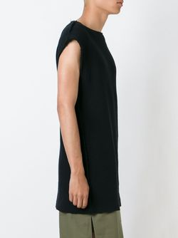 Lozenge Applications Sleeveless Sweatshirt Damir Doma                                                                                                              чёрный цвет