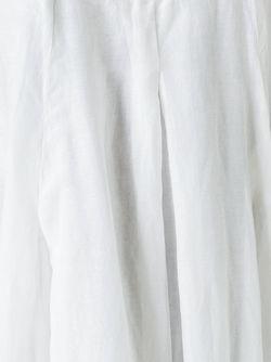 Draped Dress Poème Bohèmien                                                                                                              белый цвет