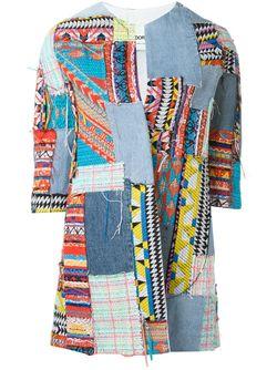 Patchwork Jacket AVA ADORE                                                                                                              синий цвет