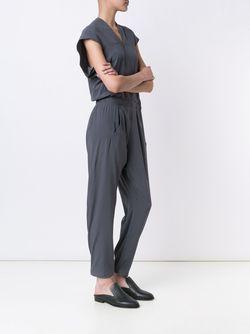 Shortsleeved Jumpsuit Zero + Maria Cornejo                                                                                                              серый цвет
