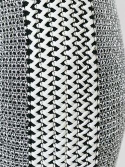 Плетеная Юбка Zoe Karssen                                                                                                              серебристый цвет