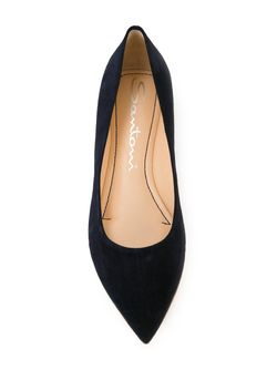 Pointed Toe Ballerinas Santoni                                                                                                              синий цвет