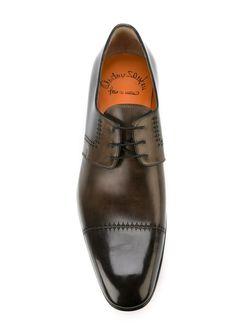 Derby Shoes Santoni                                                                                                              серый цвет