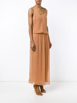 Hortense Dress With Embroidery Mes Demoiselles                                                                                                              желтый цвет