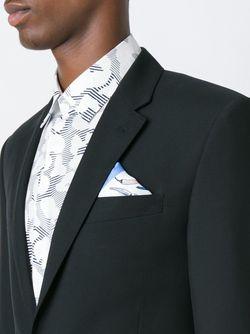Нагрудный Платок Kiton                                                                                                              синий цвет