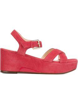 Sling Back Wedge Sandals L' Autre Chose                                                                                                              красный цвет