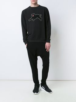 Panther Patch Sweatshirt Maharishi                                                                                                              чёрный цвет
