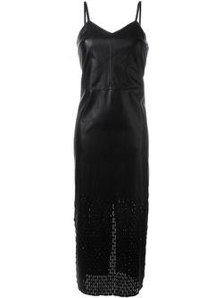 Платье На Бретельках Opening Ceremony                                                                                                              чёрный цвет