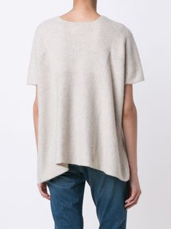 Knitted T-Shirt The Elder Statesman                                                                                                              Nude & Neutrals цвет