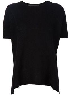 Knitted T-Shirt The Elder Statesman                                                                                                              черный цвет