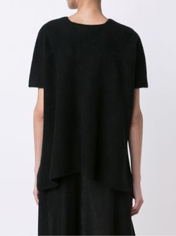 Knitted T-Shirt The Elder Statesman                                                                                                              чёрный цвет