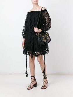 Декорированная Сумка На Плечо Hudson Chloe                                                                                                              черный цвет