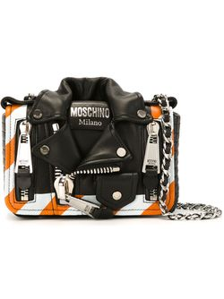 Biker Crossbody Bag Moschino                                                                                                              чёрный цвет