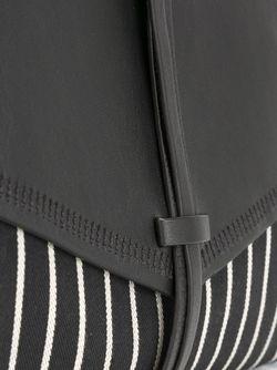 Клатч В Полоску Holly Isabel Marant                                                                                                              чёрный цвет