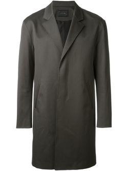 Пальто На Потайной Застежке SYSTEM HOMME                                                                                                              зелёный цвет
