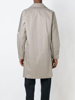 Пальто На Потайной Застежке SYSTEM HOMME                                                                                                              Nude & Neutrals цвет