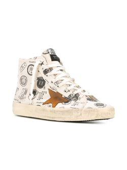 Хайтопы Francy Golden Goose                                                                                                              белый цвет