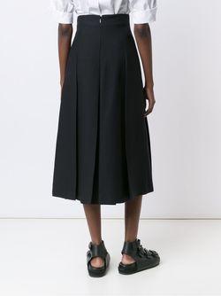 Pleated Midi Skirt Fendi                                                                                                              чёрный цвет