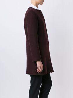 Однобортное Пальто A.P.C.                                                                                                              розовый цвет