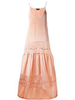 Платье Без Рукавов Rochas                                                                                                              желтый цвет