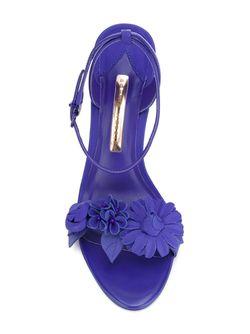 Босоножки Lilico Sophia Webster                                                                                                              синий цвет