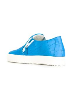 Кеды Adam Giuseppe Zanotti Design                                                                                                              синий цвет