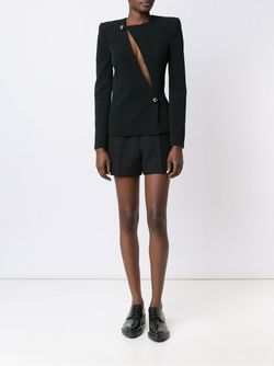 Chest Slit Fitted Jacket Mugler                                                                                                              черный цвет