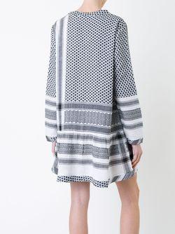 Платье C V-Образным Вырезом CECILIE COPENHAGEN                                                                                                              белый цвет