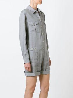 Shirt Jumpsuit Vince                                                                                                              серый цвет