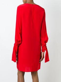 Платье С Длинными Рукавами 3.1 Phillip Lim                                                                                                              красный цвет