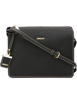 Stitch Detail Crossbody Bag DKNY                                                                                                              черный цвет