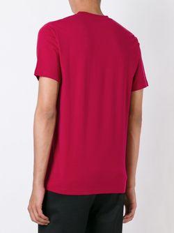 Футболка С Абстрактным Принтом Paul Smith Red Ear                                                                                                              розовый цвет