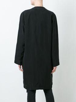 Однобортное Пальто Soul Minimarket                                                                                                              черный цвет