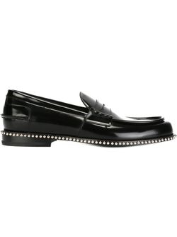 Studded Detail Loafers Louis Leeman                                                                                                              чёрный цвет